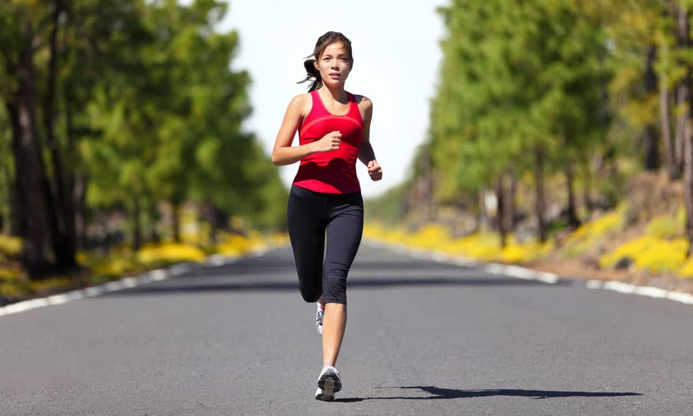 Running is good for health