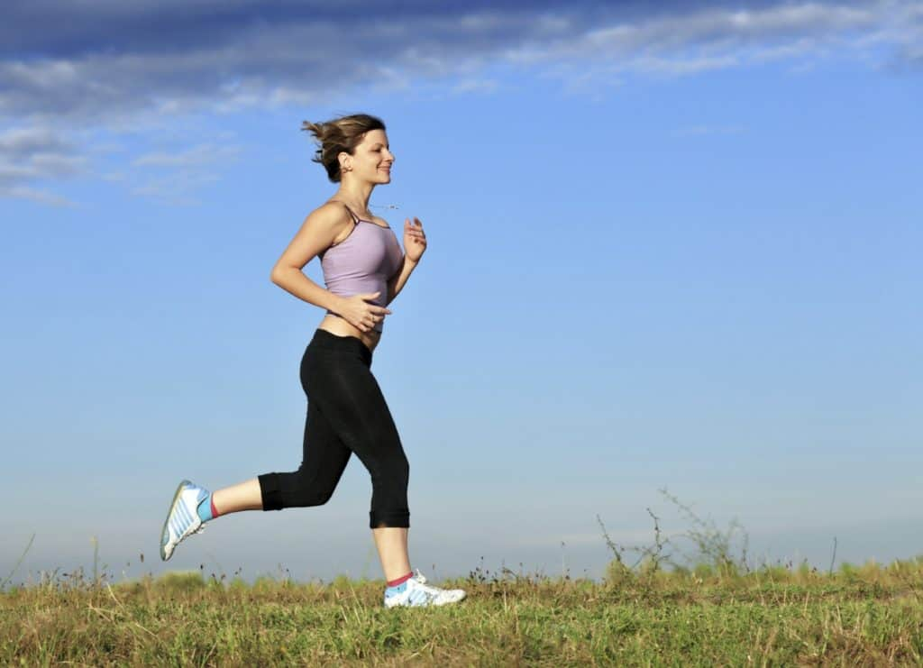 Running will make you more happier