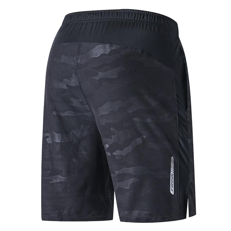 Men's Training Workout Shorts & Fitness Socks