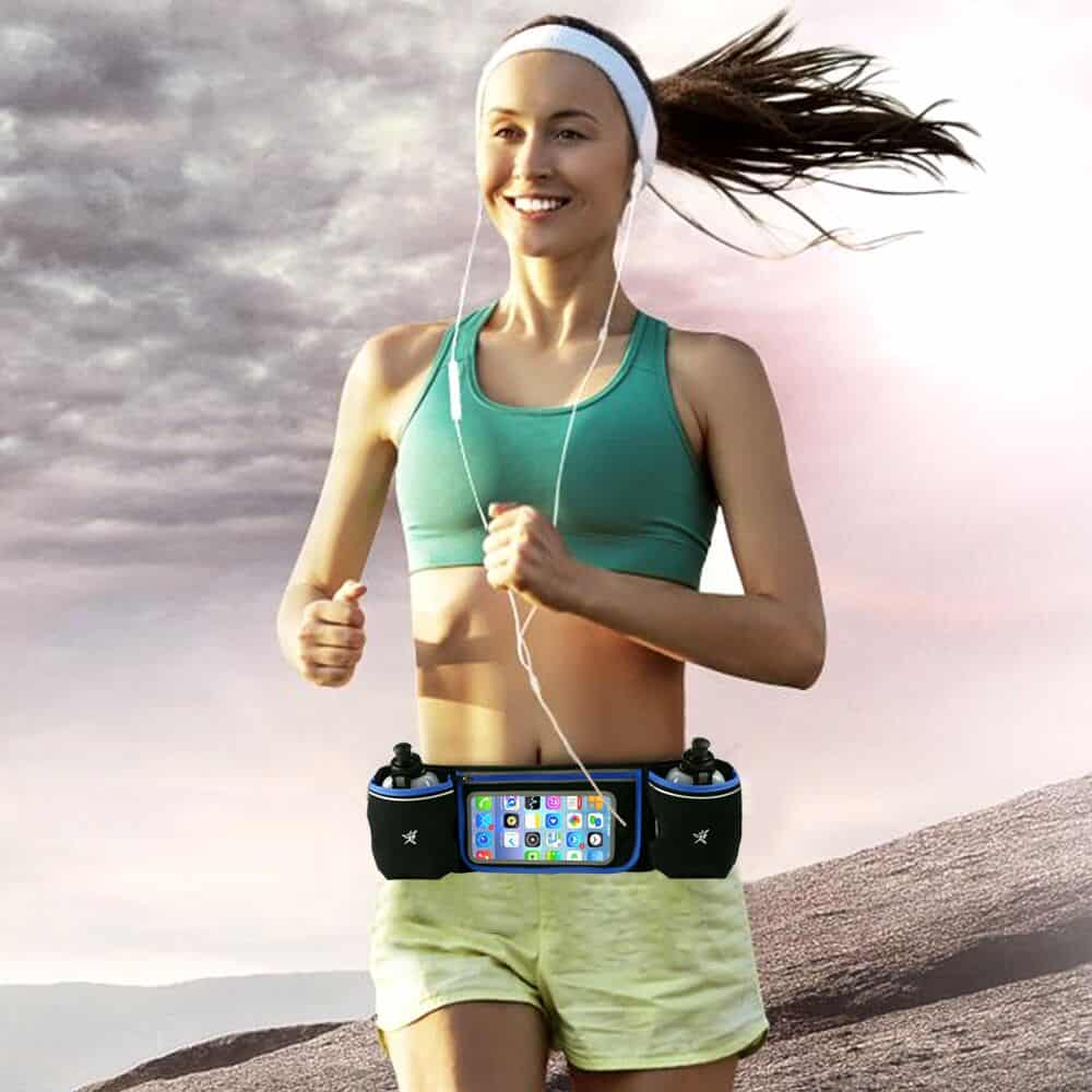Multipurpose Running Belt Bag & Leggings For Exercising