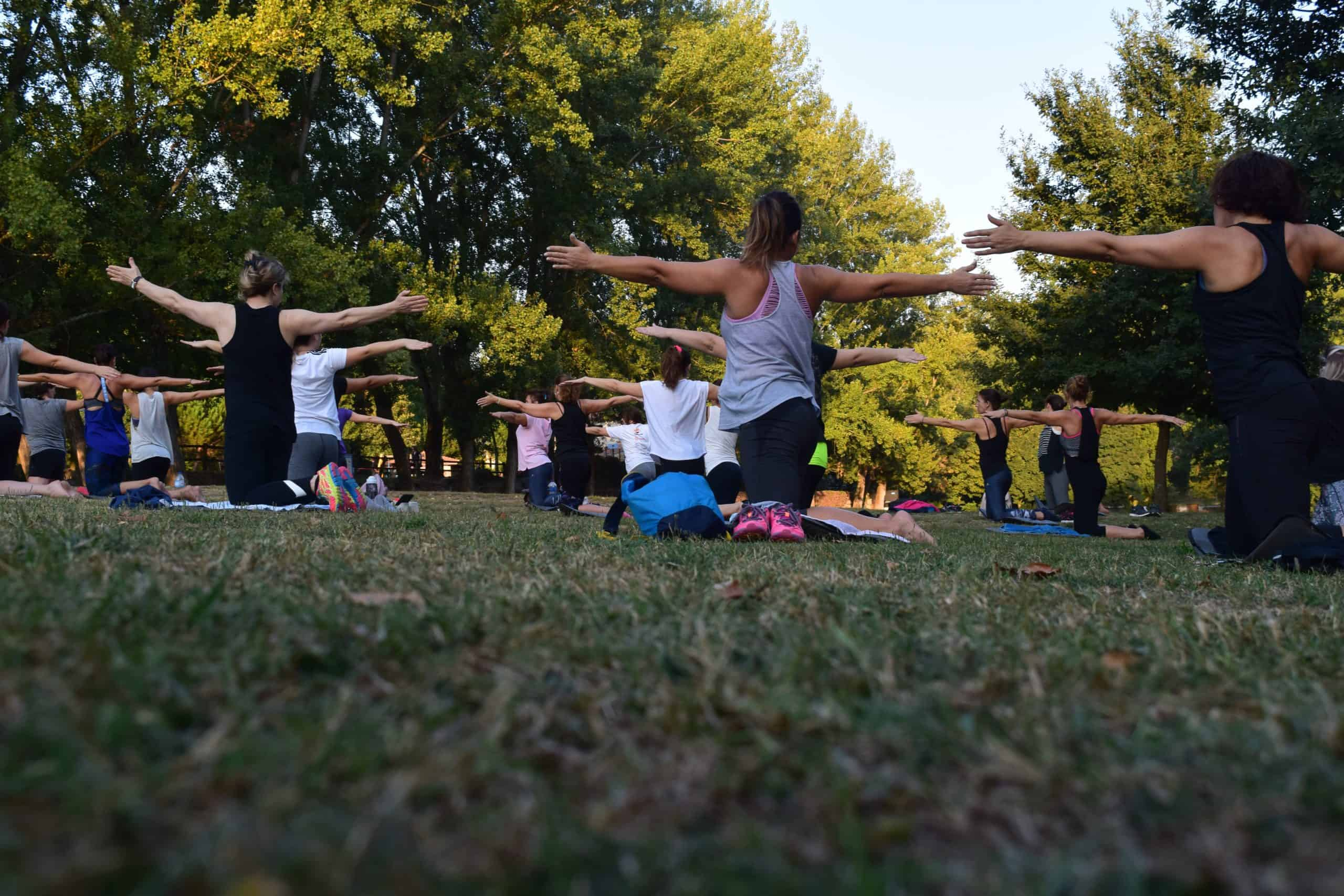Getting Comfy With Yoga And Fitness