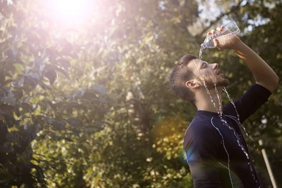 Top Hydration Running Belt With Water Bottle